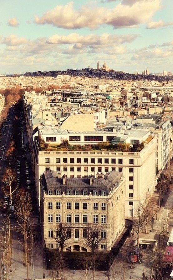 Outono. Paris, França.