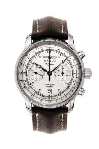 Graf Zeppelin Hand Wind Chronograph Watch 7608-1 Graf Zeppelin. $895.00