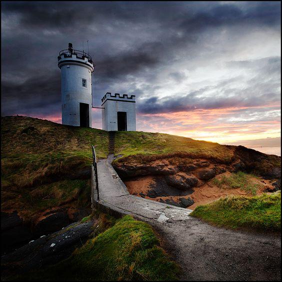 Elie lighthouse, Fife, Scotland