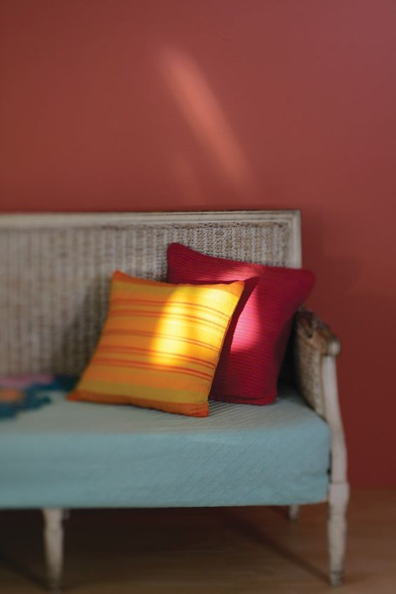 bright coloured cushions can bring life to simple furniture and add character to a room bright coloured furniture