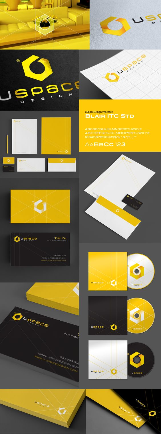 The Project Geometric Shapes And Branding On Pinterest