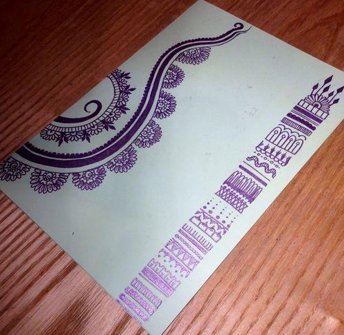 Doodles.  card -  doodle -  love  purple  illustration -  #teenagers  diy