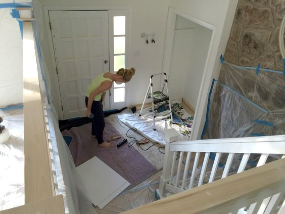 Split level home front entrance extension also love door for Split level extension ideas