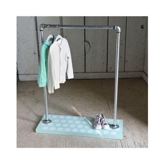 dot dress up rack children s clothing rack by mavindustrial4kids