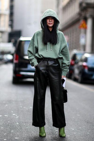 Attendees at Milan Fashion Week Spring 2019 - Street Fashion