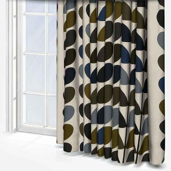 Orla Kiely Multi Stem Moss Curtain Custom Curtains Custom Curtains Orla Kiely Curtains Curtains