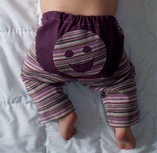 Baby bum pants