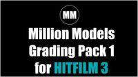 Million Models - Free Hitfilm Grade Pack 1
