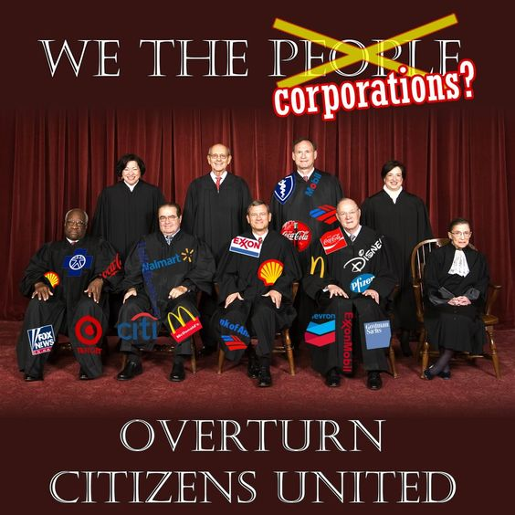 Corporations are not people.. don't be a sell out!!!