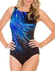 Fireworks One-Piece Swimsuit: