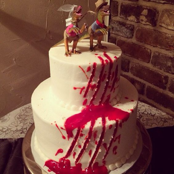 park weddings jurassic park and wedding cakes on pinterest
