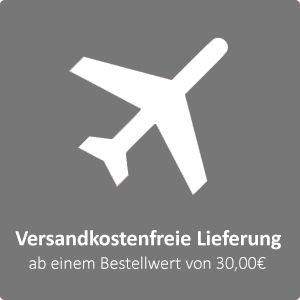Versandkostenfrei schon ab 30€Bestellwert.