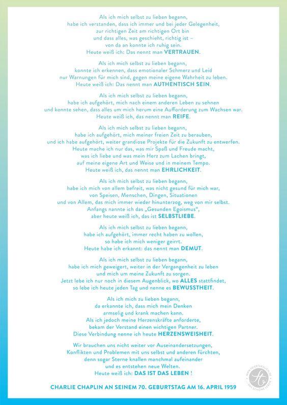 www.feiertaeglich.de #feiertäglich #charliechaplin #selbstliebe #redezum70.geburtstag