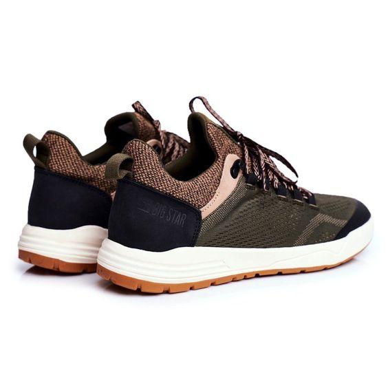 Sportowe Obuwie Meskie Big Star Khaki Ff174278 Brazowe Zielone Saucony Sneaker Shoes Sneakers