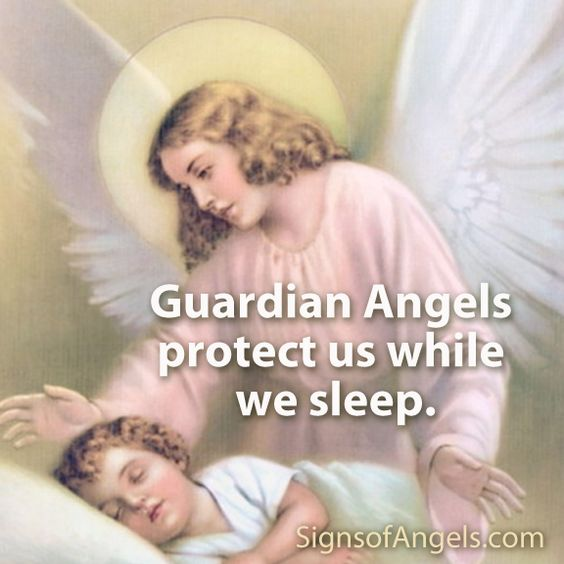how to know your guardian angel is with you