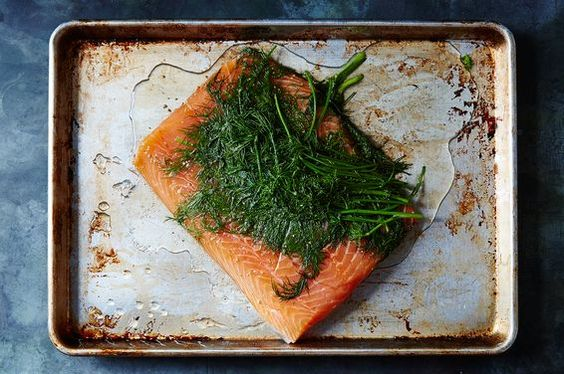 Magnus Nilsson's Gravlax, a recipe on Food52