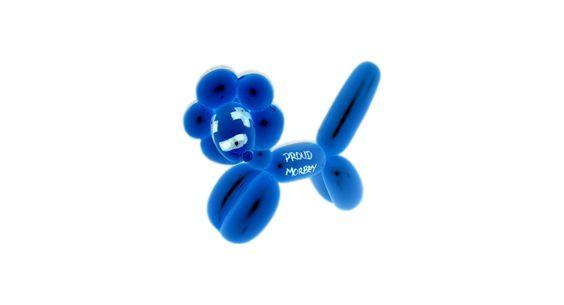 It's a balloon lion *roar* #proud #stolz