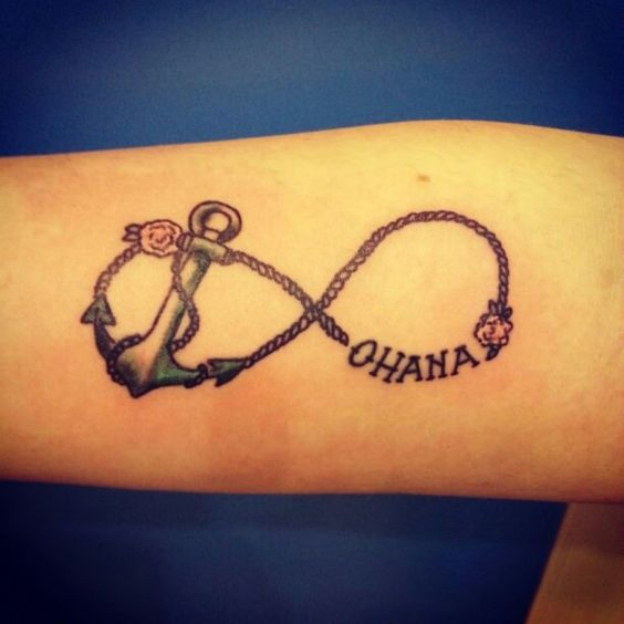 Ohana tattoo tattoo dream pinterest for Ohana infinity tattoo