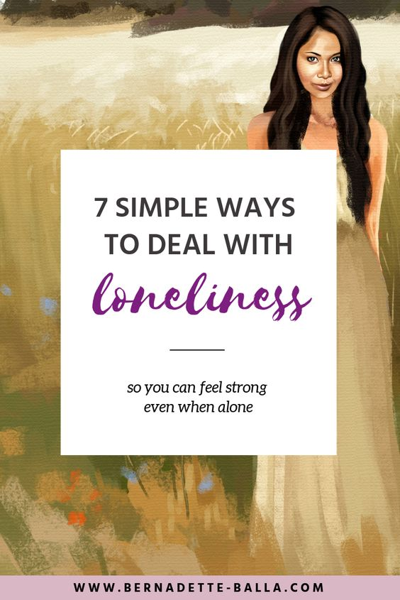 How to Overcome Loneliness in 7 Simple Ways | Spirituality, Healing, Growth & Inspiration - Feeling lonely? Click through to learn how to cope with loneliness! | coping with loneliness truths | feeling lonely | love | relationships | friends | what to do when feeling lonely | being alone truths | happy and alone | dealing with loneliness tips | finding happiness in yourself | mental health tips | spiritual journey | self-love & self-care tips | creating happiness tips #findinghappiness