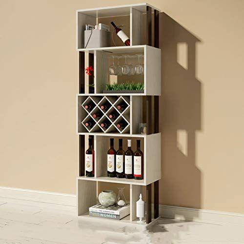 Fpigshs Wine Cooler Cabinet Wine Rack Showcase Partition Cabinet Stand De Exhibicion Floor Standing Storage Shelf Multifuncion Ho Shelves Standing Shelves Home