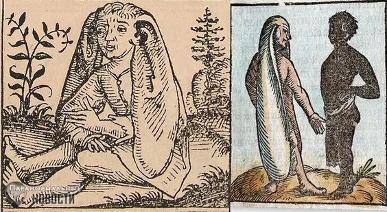 Mensen met hondenkoppen en enorme oren: bizarre volkeren uit vroegere tijden