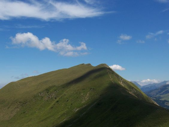The moutain is a face - Alpes - France