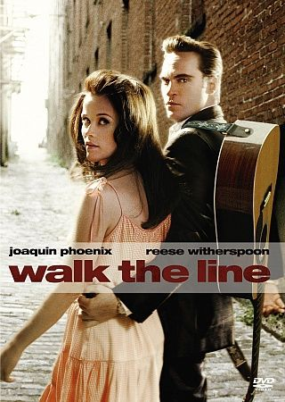 Walk the Line (2005) An American biographical drama film directed by James Mangold and based on the early life and career of country music artist Johnny Cash. The film stars Joaquin Phoenix, Reese Witherspoon, Ginnifer Goodwin, and Robert Patrick.