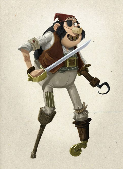 AArdman Art : The Pirates! In an Adventure with Scientists!
