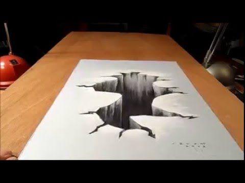 31 Lukisan 3d Di Kertas Keren Trick Menggambar 3d Di Kertas Youtube Download Belajar Cara Menggambar 3d Di Kertas Untuk Pemula Yang Mudah In 2020 Home Decor Decor