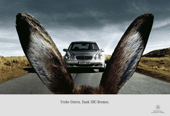 MercedesBenz Easter Themed Ad Most Creative Easter - Chickens brilliantly featured in mercedes benz commercial