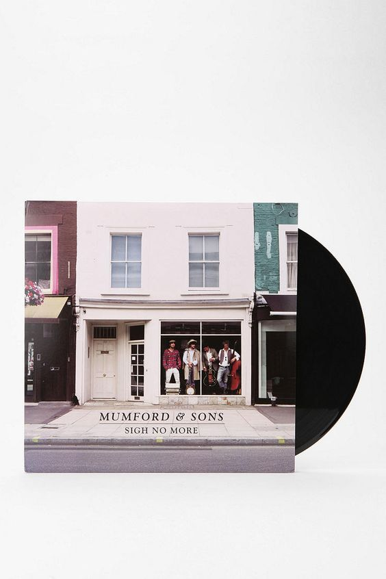 I want to start collecting LPs.. For when we get a Crosley Cruiser Briefcase Portable Turntable!!! Mumford And Sons - Sigh No More LP