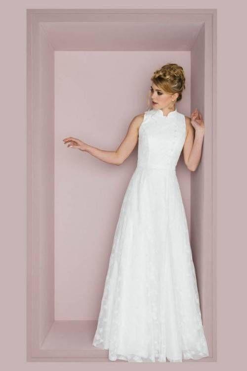 Hochzeitskleid Altrosa Hochzeitskleid Modern Brautkleid Brautmode
