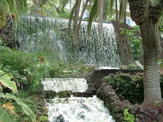 Teneriffa: Parque Taoro in Puerto de la Cruz
