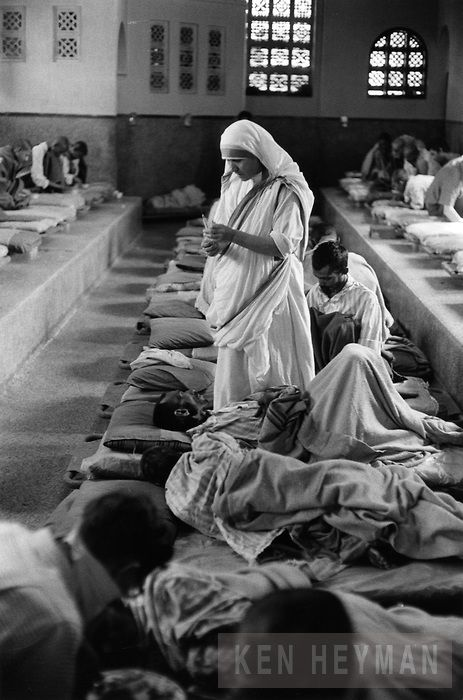 Mother Teresa at her i...