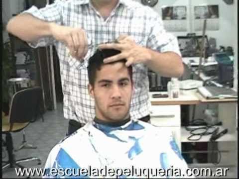 Haircut Short Hair Styles for Men-Video corte cresta