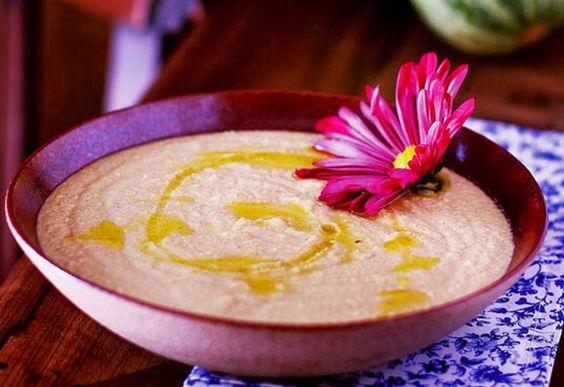 Nutrição Holística: Receita Funcional: Homus de Abobrinha com Semente de Girassol!