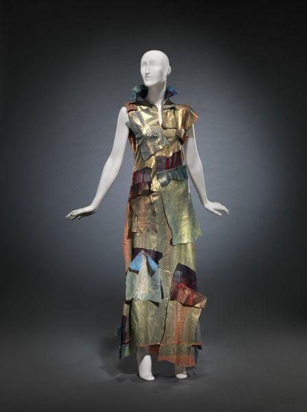 2000, Japan - Laminated Dress by Yoshiki Hishinuma - Polyester, urethane: