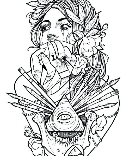 Tribal Coloring Pages Tribal Tattoo Coloring Pages Sheets Best Book Ideas On Photos 495 X 600 Pixels Tattoo Coloring Book Color Tattoo Coloring Pages