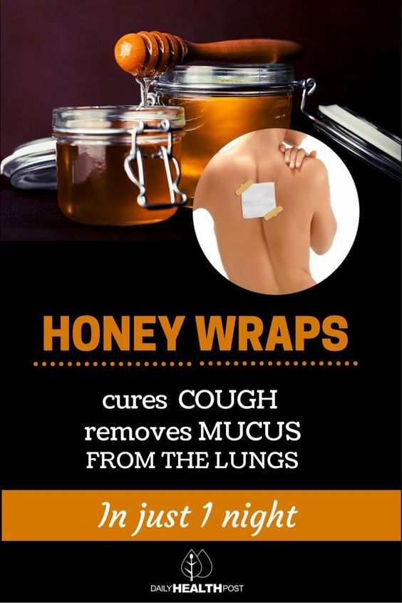 Interestingly, there is a relatively common ingredient that can not only help with a cough but has other medicinal properties as well. That ingredient is honey!  The use of honey wraps will not only help alleviate the severe coughing but also dislodge the mucus from the lungs. This treatment can be used for children as well as adults. | http://dailyhealthpost.com/honey-wraps-cures-cough-and-removes-mucus-from-the-lungs/