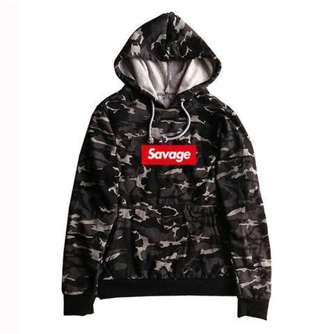Free 21 Savage Hooded Sweater Sweatshirt Pullover Hoodie