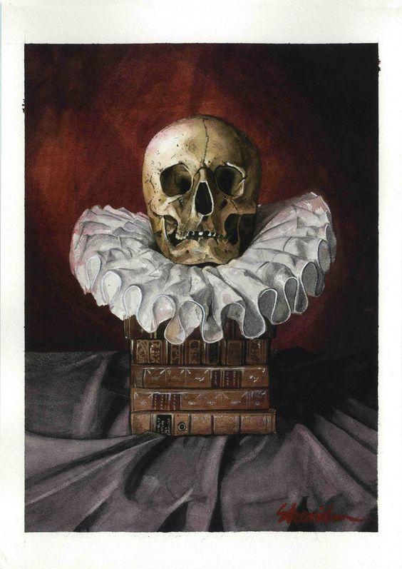 Image of Still life.skull