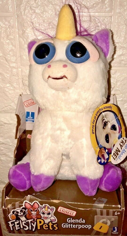 10 Feisty Pets Unicorn Plush Glenda Glitterpoop Ages 6 New See Description Williammarkgroup Unicorn Stuffed Animal Feisty Pets Unicorn Unicorn Plush