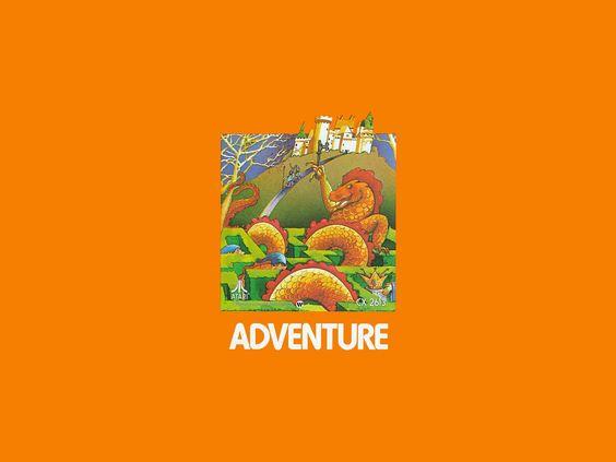 Atari 2600 - Adventure (1979) CX-2613 - Wallpaper