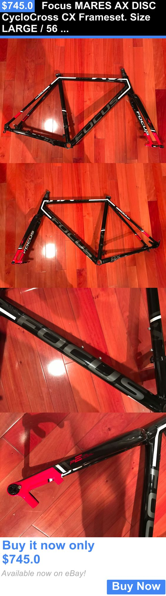 bicycle parts: Focus Mares Ax Disc Cyclocross Cx Frameset. Size Large / 56 Cm. BUY IT NOW ONLY: $745.0