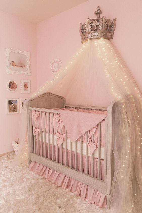Nurseries project nursery and princesses on pinterest - Cute toddler girl room ideas ...
