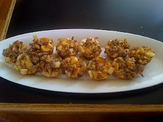 Do You Know the Muffin Pan?: Sausage Apple Biscuits
