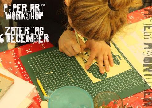 Ga mee op een paper art avontuur! Nog nooit iets met paper art gedaan en nieuwsgierig? Je bent van harte welkom! Na wat rek- en strekoefeningen...