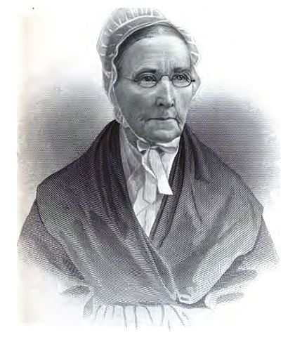 Abolitionist, Catherine White Coffin, wife of Levi Coffin, c.1879