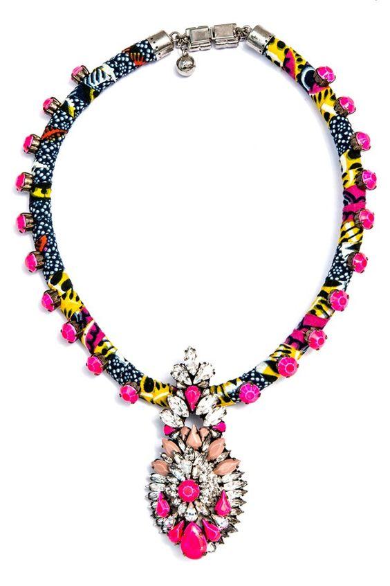 Beautiful Shourouk necklace