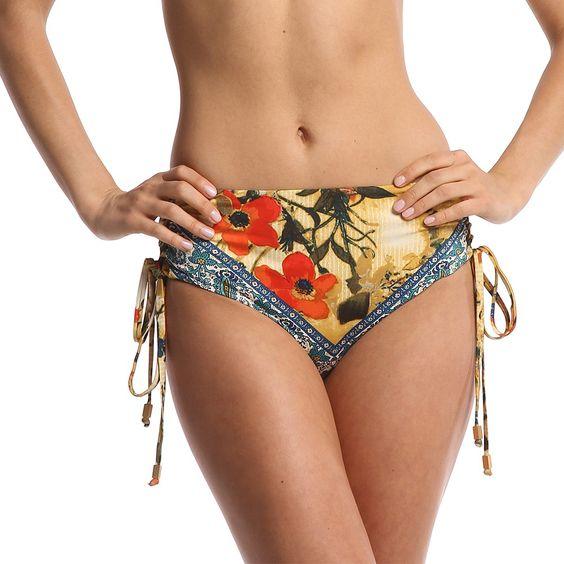 WET Miranda Sand Multi High Waisted Bottom - 2013 Collection